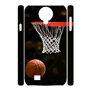 case Of Basketball 3D Bumper Plastic Cell phone Case For Samsung Galaxy S4 i9500