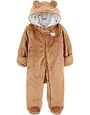Simple Joys by Carter's Unisex-Baby Fleece Footed Jumpsuit Pram
