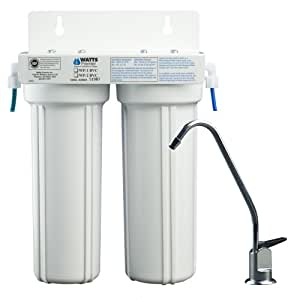 Watts Premier WP-2 LCV 2-Stage Undercounter Lead, Cyst & VOC Reducing Drinking Water System