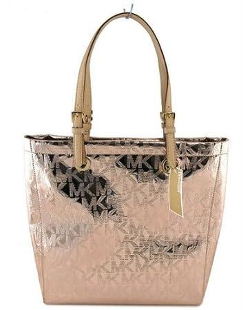 2fe8550c361a amazon michael kors large metallic tote handbag dsw - Marwood ...