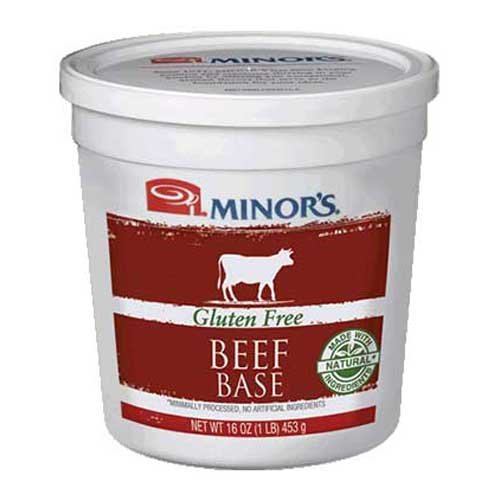 Nestle Minors All Natural Beef Base, 1 Pound -- 6 per case. by Minor's
