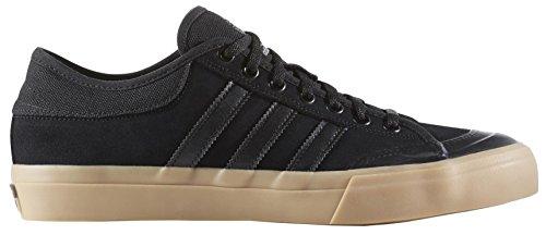 adidas Hombre matchcourt Fashion Sneaker Black/Black/Gum