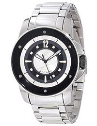 Gattinoni Men's Draco Stainless Steel Luminous Watch Black W0195JSSSLV