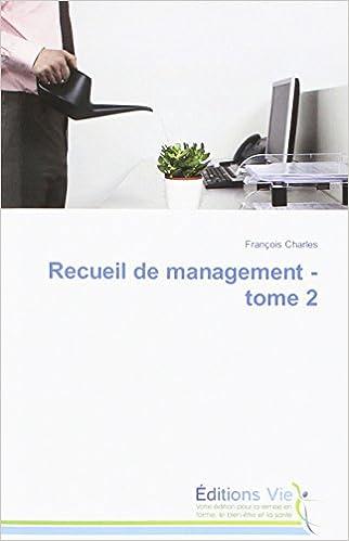 Lire un Recueil de Management - Tome 2 pdf ebook