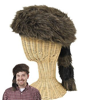 9b367cda789 Coonskin Hat - Hats   Novelty Hats  Amazon.co.uk  Toys   Games