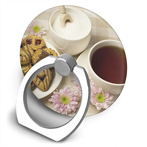 Multi-Function 360 Degree Rotating Phone Finger Ring Stand Biscuits Tea Grip Mounts Holder for iPhone Smartphones Tablet