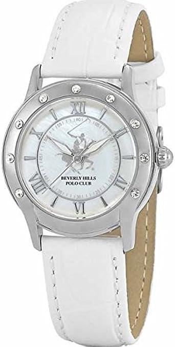 Beverly Hills Polo Club BHW4592LSW - Reloj para Mujeres, Correa ...