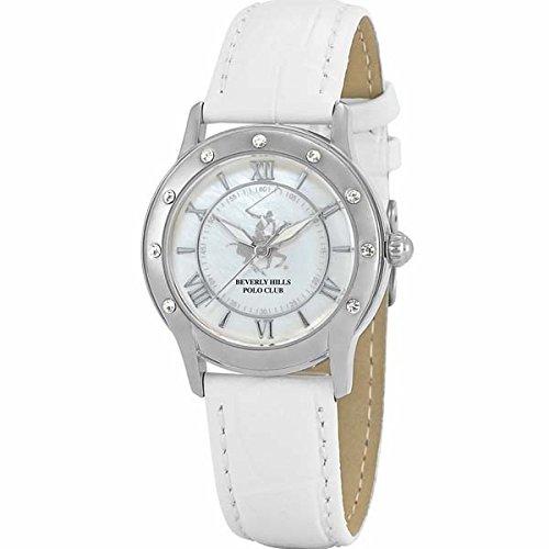 Beverly Hills Polo Club BHW4592LSW - Reloj para Mujeres, Correa de ...