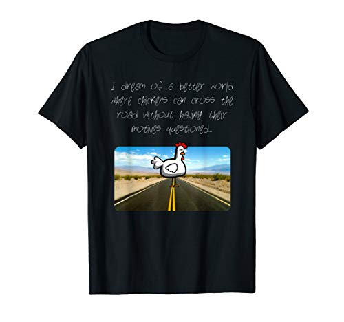 (Chicken Crossing the Road T-Shirt)