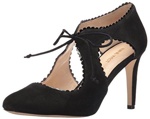 Nine West Womens Hypatia Leather Closed Toe D-orsay Pumps Black xX3LNnpAxm