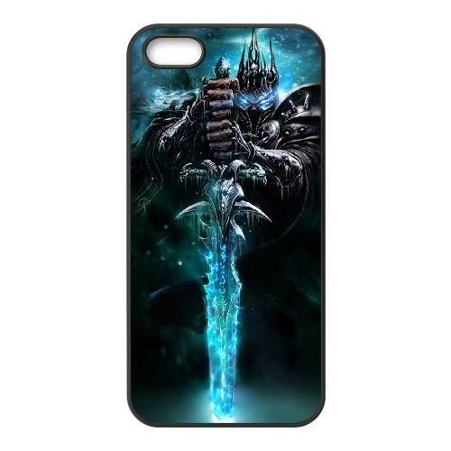 Le roi-liche BZ52VJ8 coque iPhone 5 5s téléphone cellulaire cas coque J4SD4U3WH
