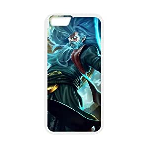League of Legends(LOL) Zilean iPhone 6 Plus 5.5 Inch Cell Phone Case White 11A103946