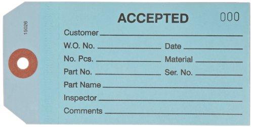 Amazon com: Aviditi G21011 Inspection Tag, Legend