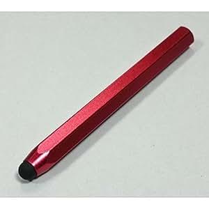 Network Cloud y Bolígrafo STYLUS TOUCH PEN Rojo de 12 cm de Aluminio Para IPAD, IPHONE, SMARTPHONE de Terceras Partes