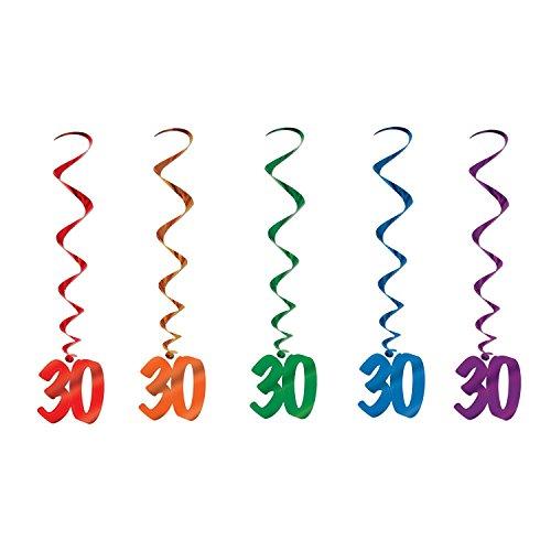 30 Whirls (asstd colors)    (5/Pkg) -