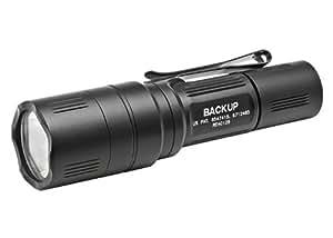 Surefire Backup Tactical Switch Dual Output LED Flashlight, Black