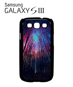 Galaxy Trees Nature Sky Mobile Cell Phone Case Samsung Galaxy S3 White