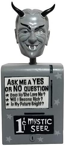 Amazon Com Bif Bang Pow The Twilight Zone Bobble Head Mystic Seer Toys Games