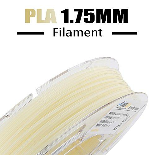 AMOLEN 3D Printer Filament, UV/Sunlight Color Change to Hot