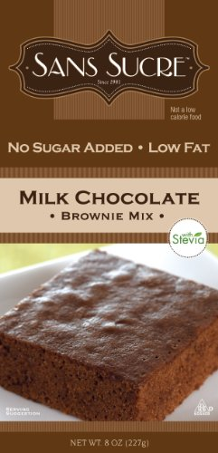 Sans Sucre Milk Chocolate Brownie Mix (Sweetened with (Chocolate Brownie)