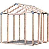 EZBUILDER EZ Shed 70187 Peak Style Instant Framing Kit
