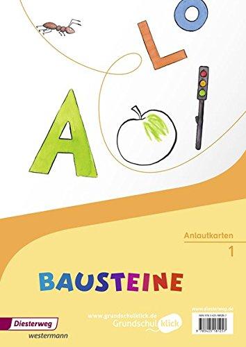 BAUSTEINE Fibel - Ausgabe 2014: Anlautkarten für Lehrerinnen und Lehrer