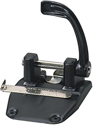 (Martin Yale 3275B Master Hole Punch, Large Capacity Chip Pan for Easy Clean-up, Punches Up To 40 Sheets of 20 Pound Bond Paper, Adjustable Guide)
