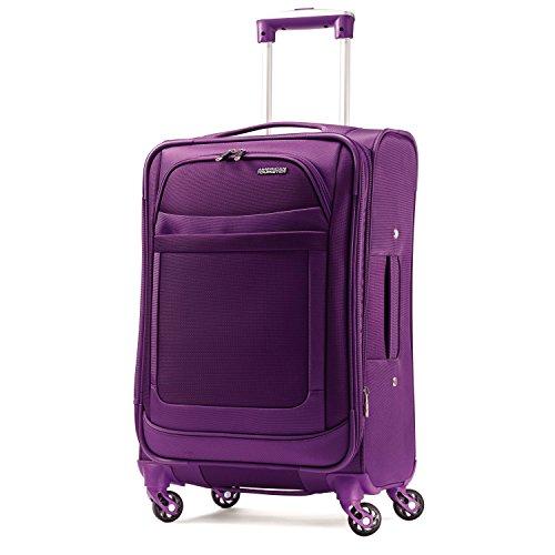 American Tourister Ilite Max Softside Spinner 25, Purple