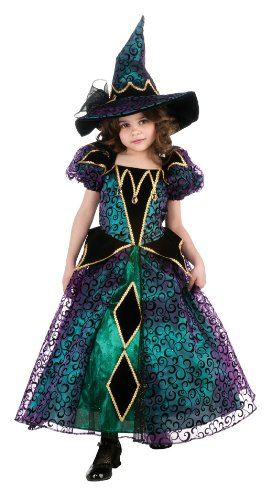[Radiant Witch Costume, Small] (Halloween Witch Costumes Kids)