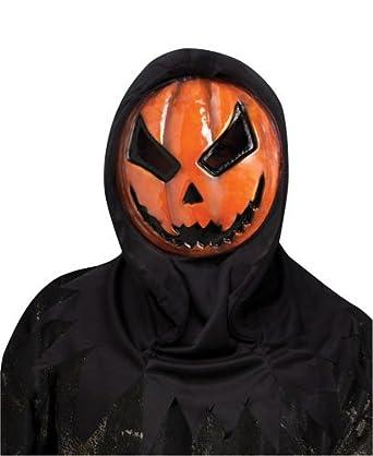 Amazon.com: Evil Bleeding Pumpkin Scary Horror Halloween Mask ...