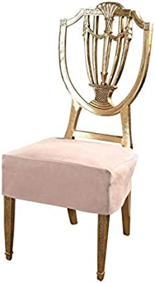 Magnificent Octorose Classic Micro Suede Set Of Two Chair Covers Chair Seat Covers Chair Protector Khaki Gmtry Best Dining Table And Chair Ideas Images Gmtryco