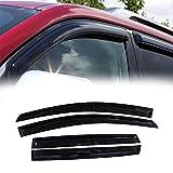 VIOJI 4pcs for 2013-2018 Ford Escape Smoke Deflector Sun Rain Guard Vent Shade Window Visors