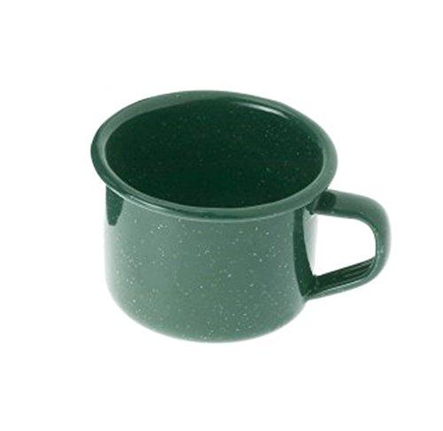 - GSI Outdoors 25206 Enamelware 4 fl oz, Green Espresso Cup