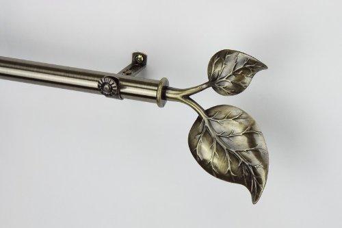 Modern Ivy Curtain Rod Size: 28