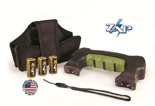 1.2m volt double trouble zap stun gun M-ZAP-1200