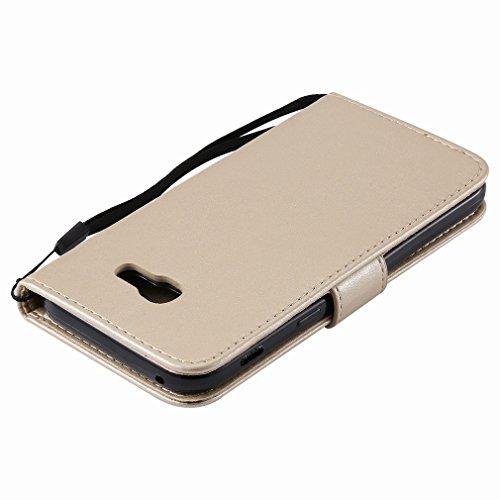 Yiizy Samsung Galaxy A5 (2017) Funda, árbol De Dibujo Diseño Solapa Flip Billetera Carcasa Tapa Estuches Premium PU Cuero Cover Cáscara Bumper Protector Slim Piel Shell Case Stand Ranura para Tarjetas