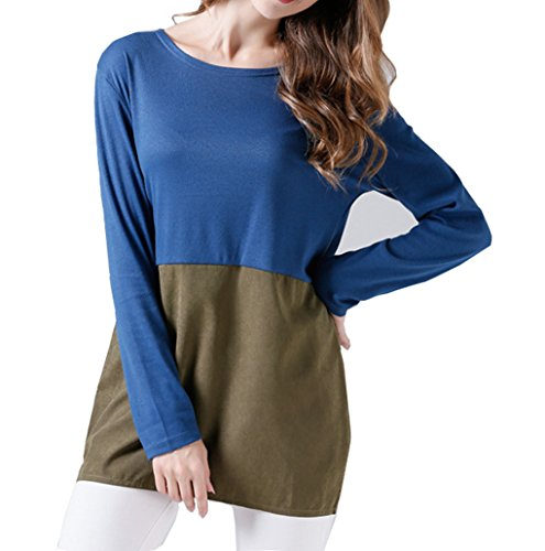 LemonGirl Women Long Sleeve Fit Colorful Casual Shirts Blouse