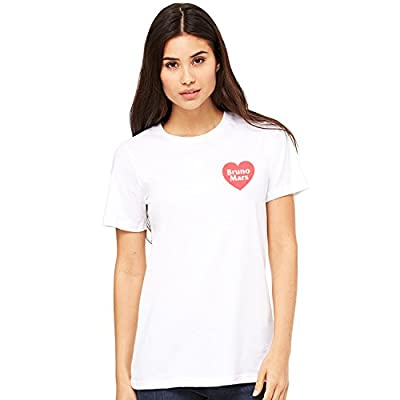 Misky & Stone I Love Bruno Mars Tee Concert Ready Super Soft T-Shirt Tee