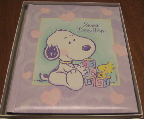 Hallmark Baby Snoopy Album - Sweet Baby Days - Keepsake Book by Baby Snoopy