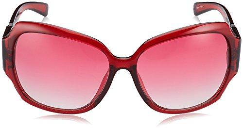 62 de Sol para F37 GUESS Gafas GU0217F Bordeaux Rojo Mujer n7IOq1zwq