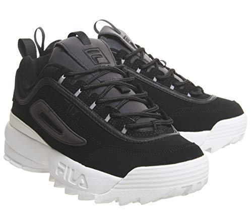 Split Donna Premium Phaseshift Black Nero Disruptor Fila Sneaker Ii xCUqUf8