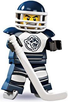 LEGO Series 4 Collectible Minifigure Hockey (Hockey Player)