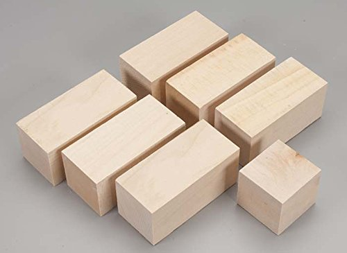 887701 Basswood Mini Carving Block Project Bag