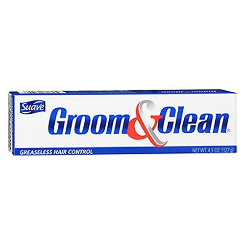 Groom Clean Greaseless Hair Control 4.50 oz Pack of 3