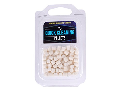 Air Venturi Quick Cleaning Pellets, Easy and Effective Barrel Cleaning for Airguns.177 Cal (100 Count)