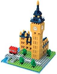 英国大本钟积木模型 – Nanoblock Big Ben 日本河田纳米益智玩具,特价$18.21