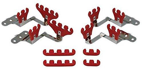 Moroso 72141 Wire Loom Kit,Cntrblt,Red