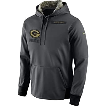 aee2fc3b037 Image Unavailable. Image not available for. Color  Nike 2016 Green Bay  Packers Salute to Service Hoodie ...
