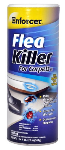 Enforcer 20-Ounce Flea Killer for Carpet, Ocean Breeze Fragrance (Killer Spray Flea)