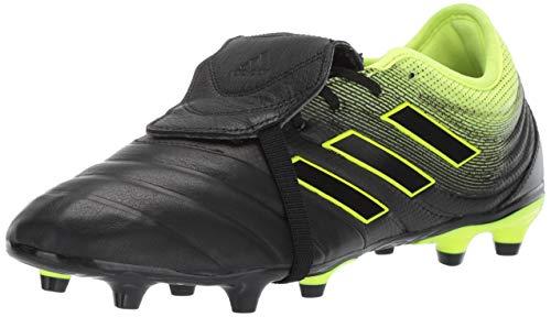 adidas Men's Copa Gloro 19.2 Firm Ground, Black/Solar Yellow, 8 M US